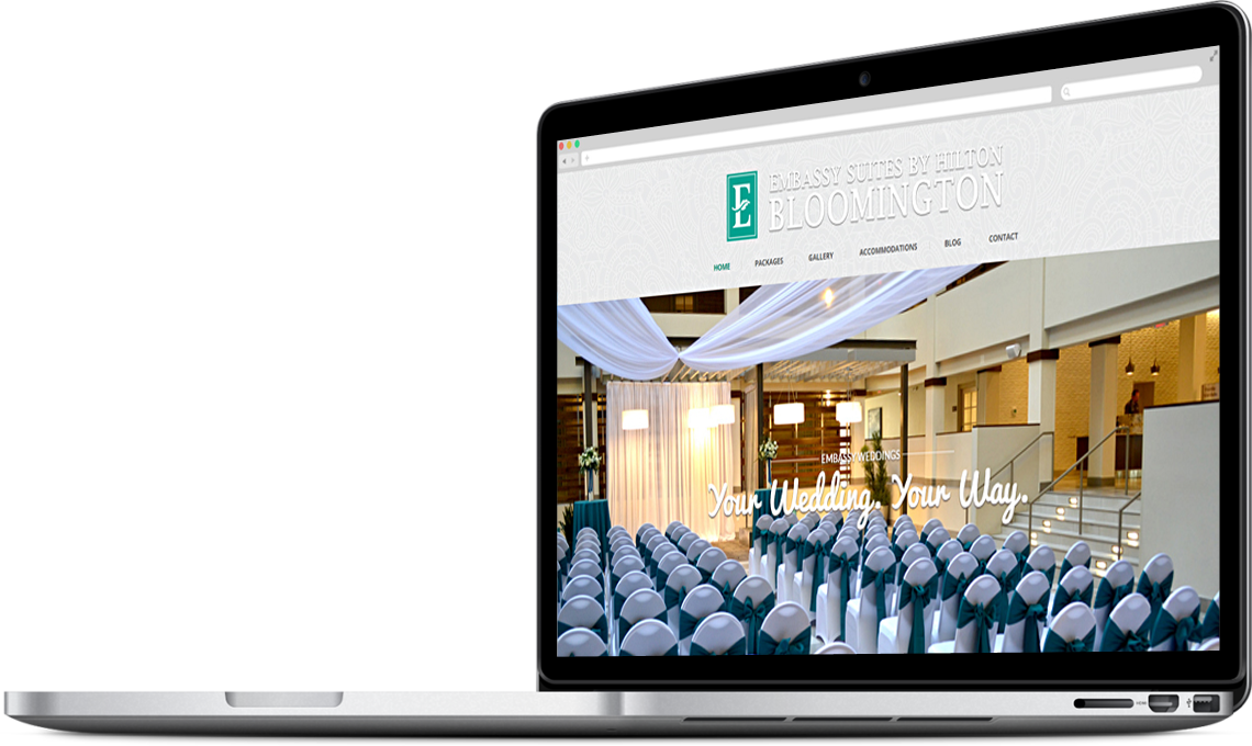 Embassy Suites by Hilton Wedding Website