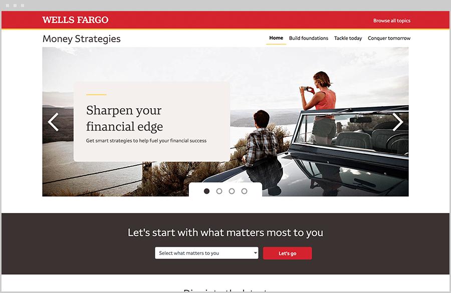 Money Strategies website